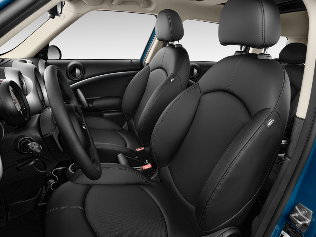 image 2012 mini cooper countryman fwd 4 door s front seats size 1024 x 768 type gif posted. Black Bedroom Furniture Sets. Home Design Ideas