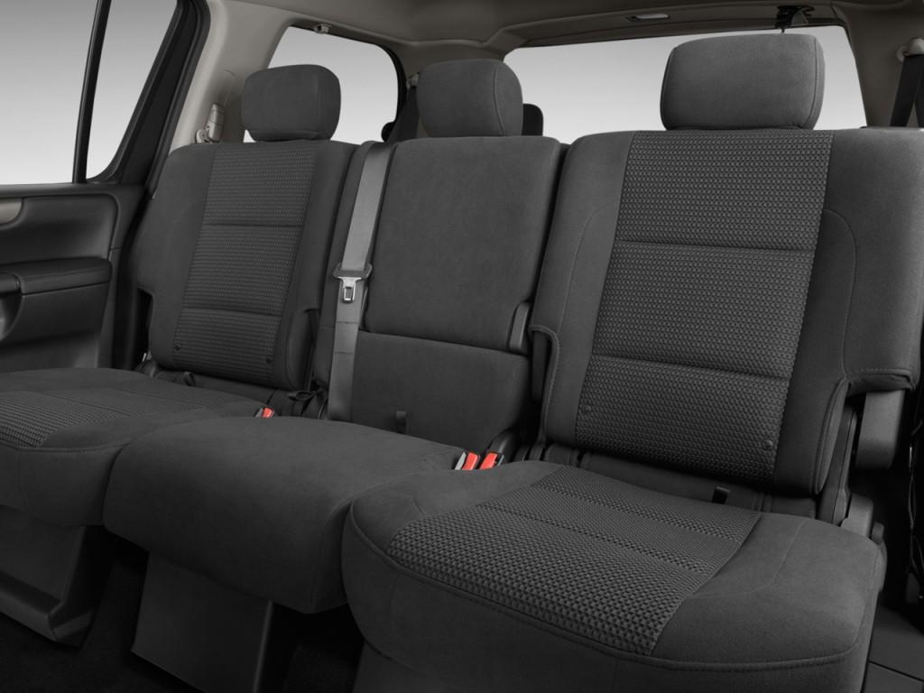 Image: 2012 Nissan Armada 2WD 4-door SV Rear Seats, size ...