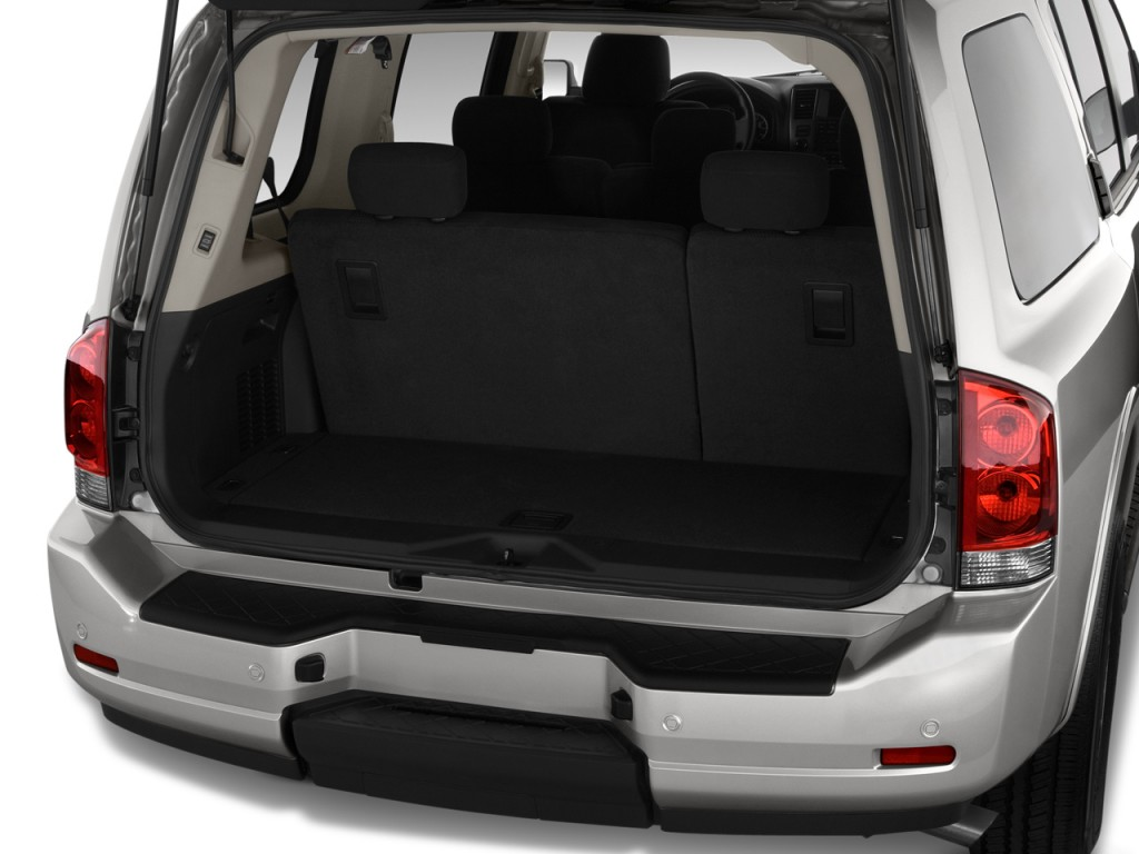 Used Nissan Pathfinder >> Image: 2012 Nissan Armada 2WD 4-door SV Trunk, size: 1024 x 768, type: gif, posted on: September ...