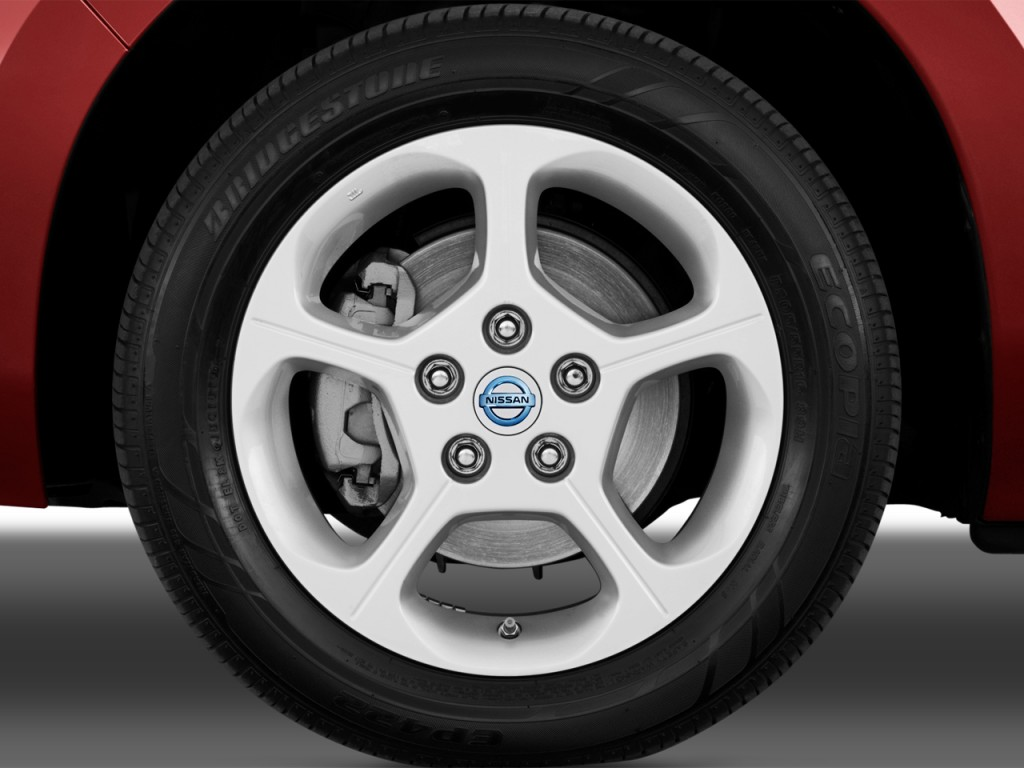 2012 Nissan Leaf 4-door HB SL Wheel Cap