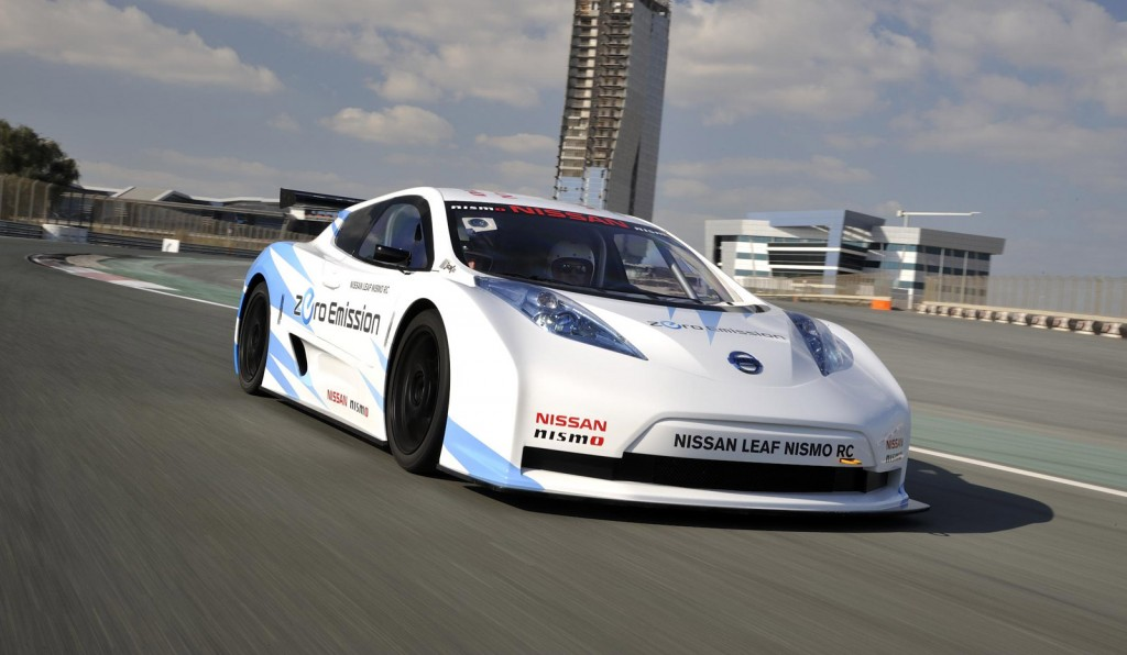 Nissan Gives Update On Leaf Nismo Rc Electric Racer Video