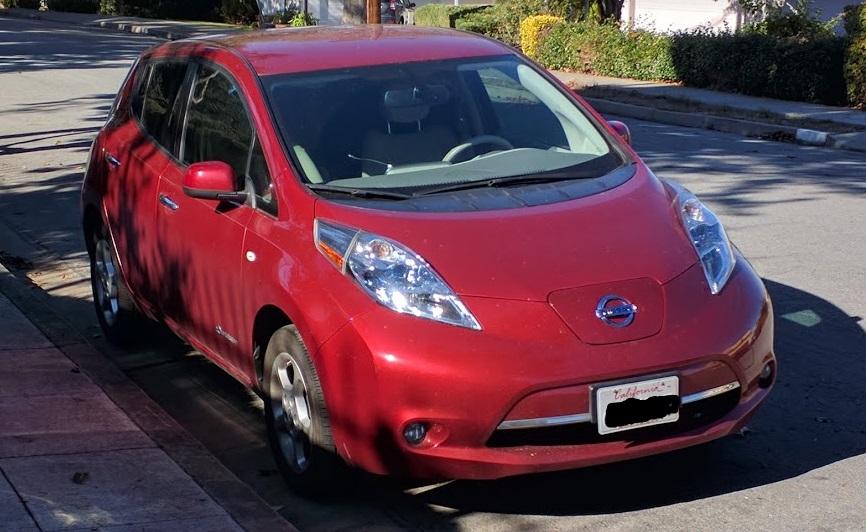 image 2012 nissan leaf sl electric car owned by shiva of. Black Bedroom Furniture Sets. Home Design Ideas