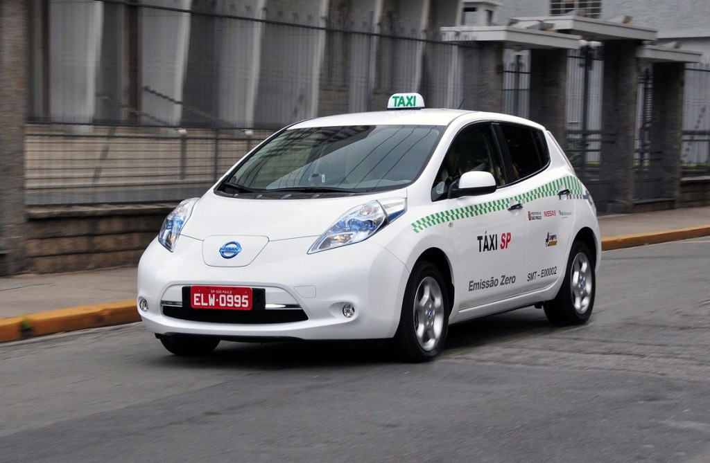 2012 Nissan Leaf Taxi in Sao Paulo