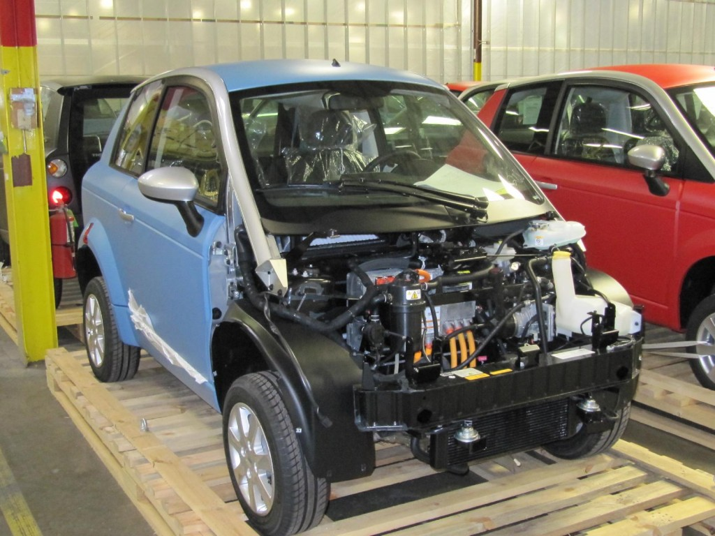 Image: Assembly of Think City electric cars, Elkhart ...