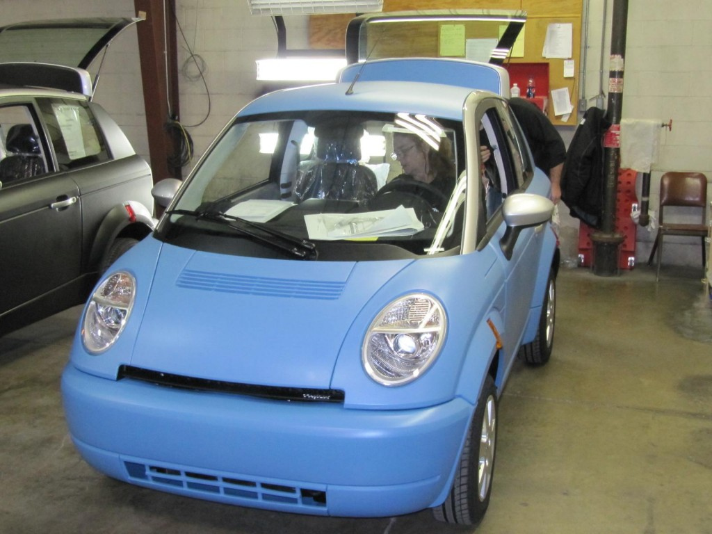 Image Assembly Of Think City Electric Cars Elkhart