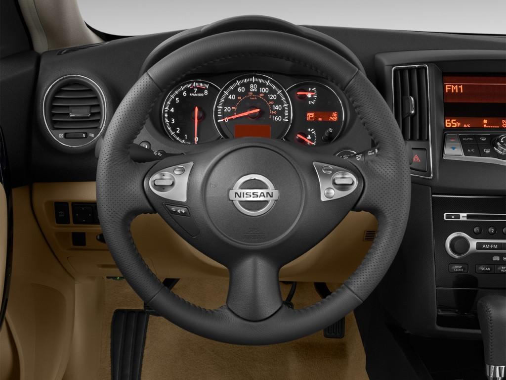image 2012 nissan maxima 4 door sedan v6 cvt 3 5 s steering wheel size 102. Black Bedroom Furniture Sets. Home Design Ideas