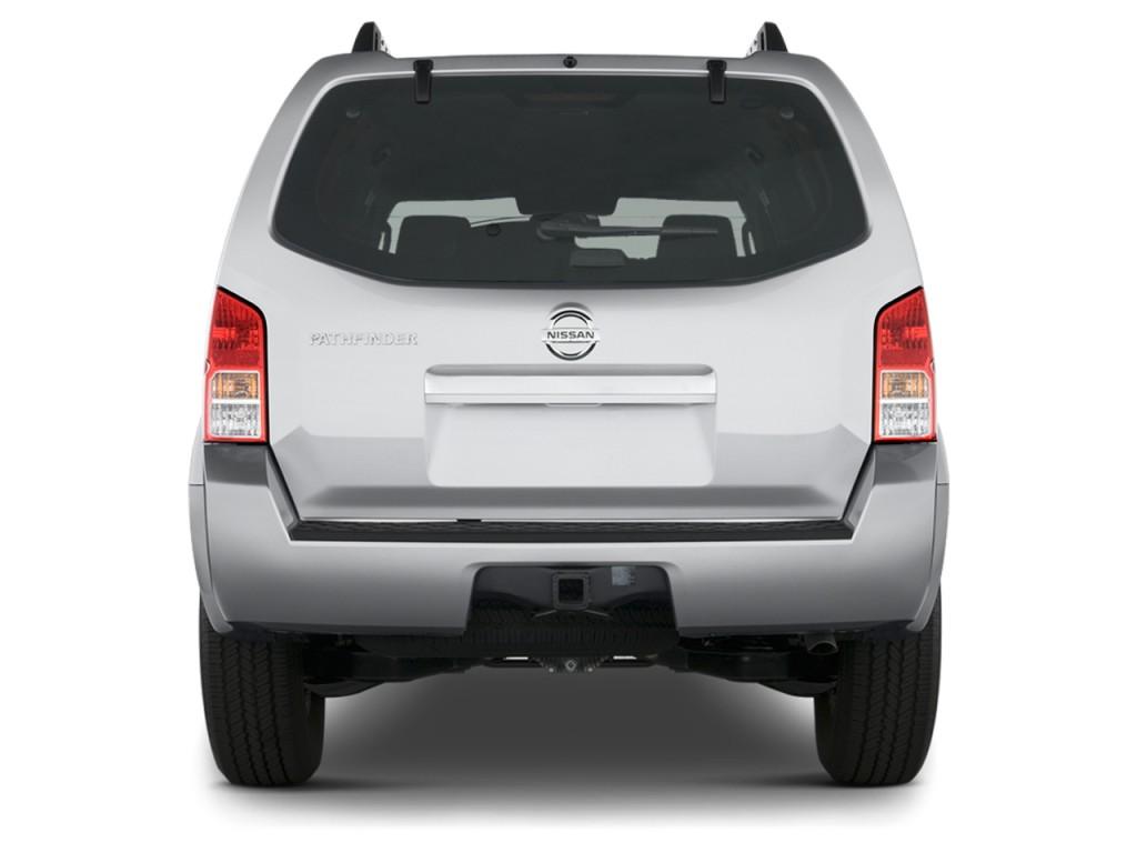 Image: 2012 Nissan Pathfinder 4WD 4-door V6 SV Rear ...