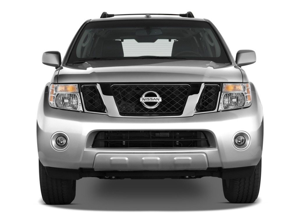 image 2012 nissan pathfinder 4wd 4 door v8 le front. Black Bedroom Furniture Sets. Home Design Ideas
