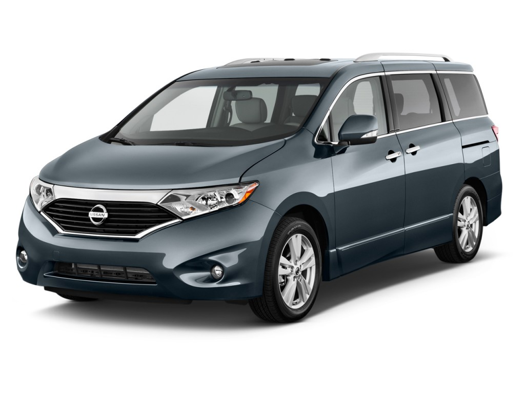 2012 Nissan Quest 4-door LE Angular Front Exterior View