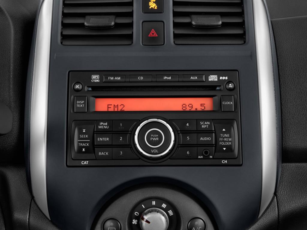 Maxima Vs Altima >> Image: 2012 Nissan Versa 4-door Sedan CVT 1.6 SV Audio ...