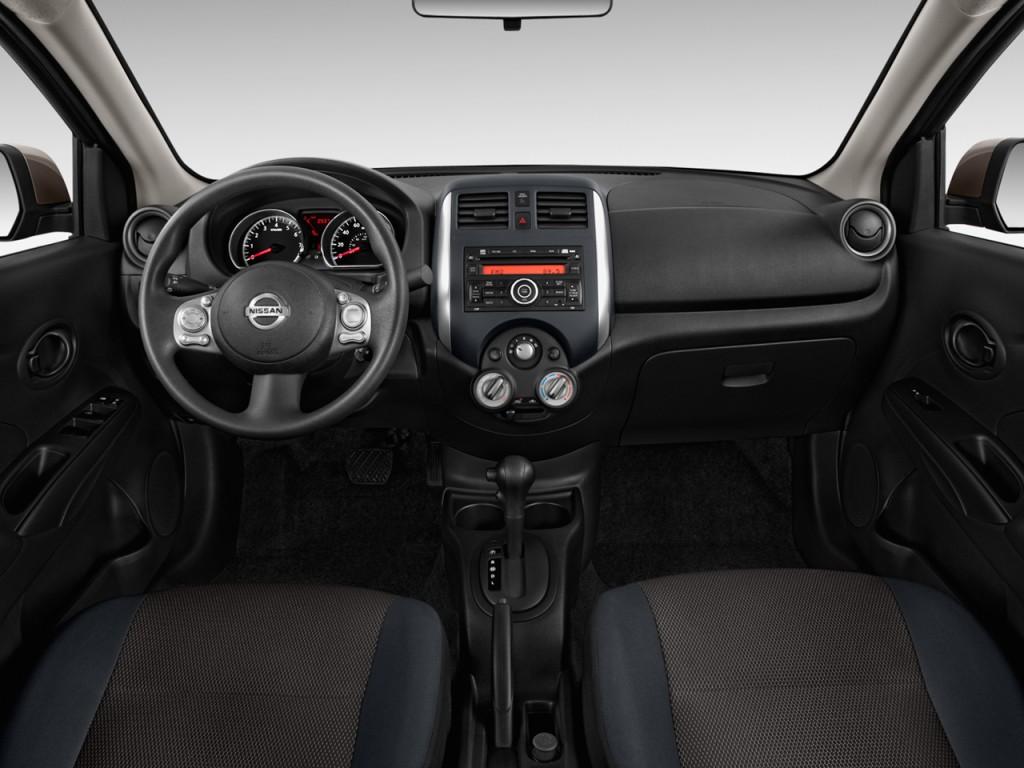 Image 2012 Nissan Versa 4 Door Sedan Cvt 1 6 Sv Dashboard