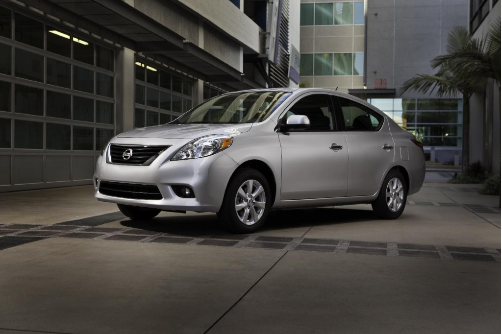 2012 Nissan Versa four-door sedan