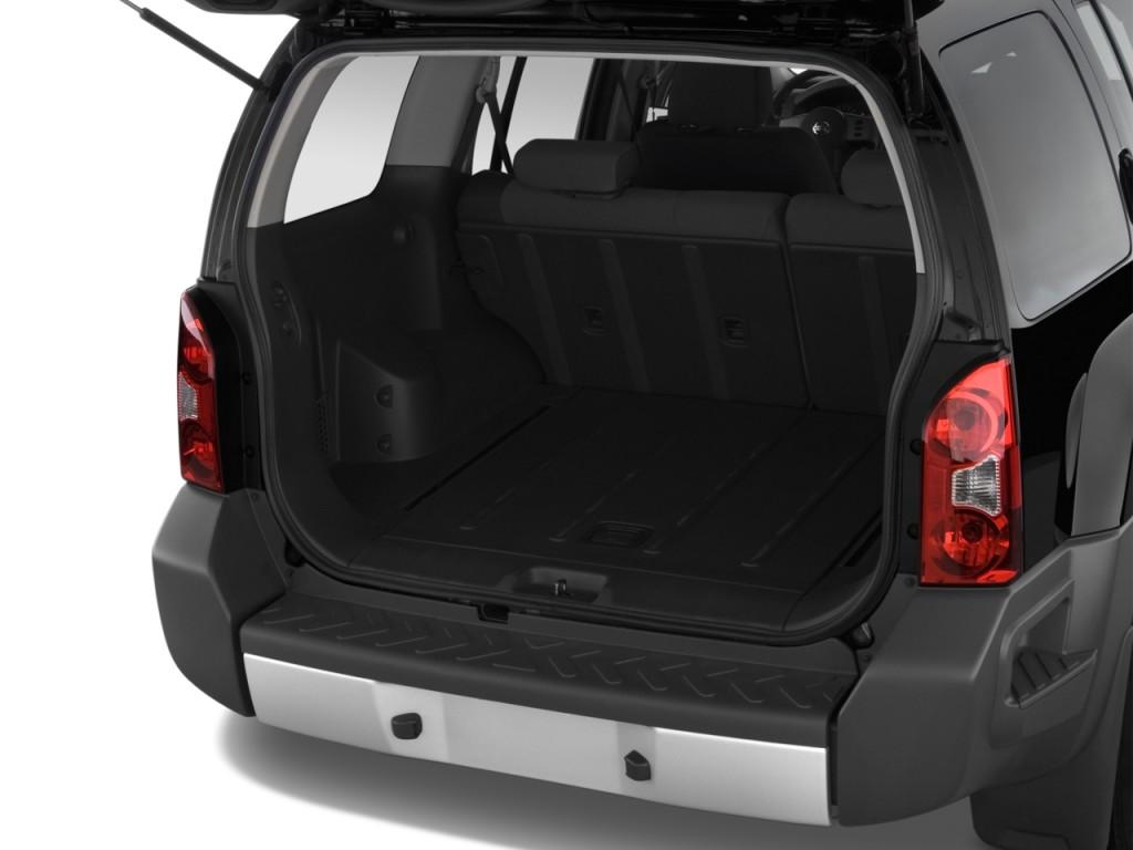 Image 2012 Nissan Xterra 2wd 4 Door Auto S Trunk Size