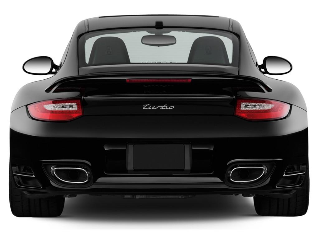 Image: 2012 Porsche 911 2-door Coupe Turbo Rear Exterior ...