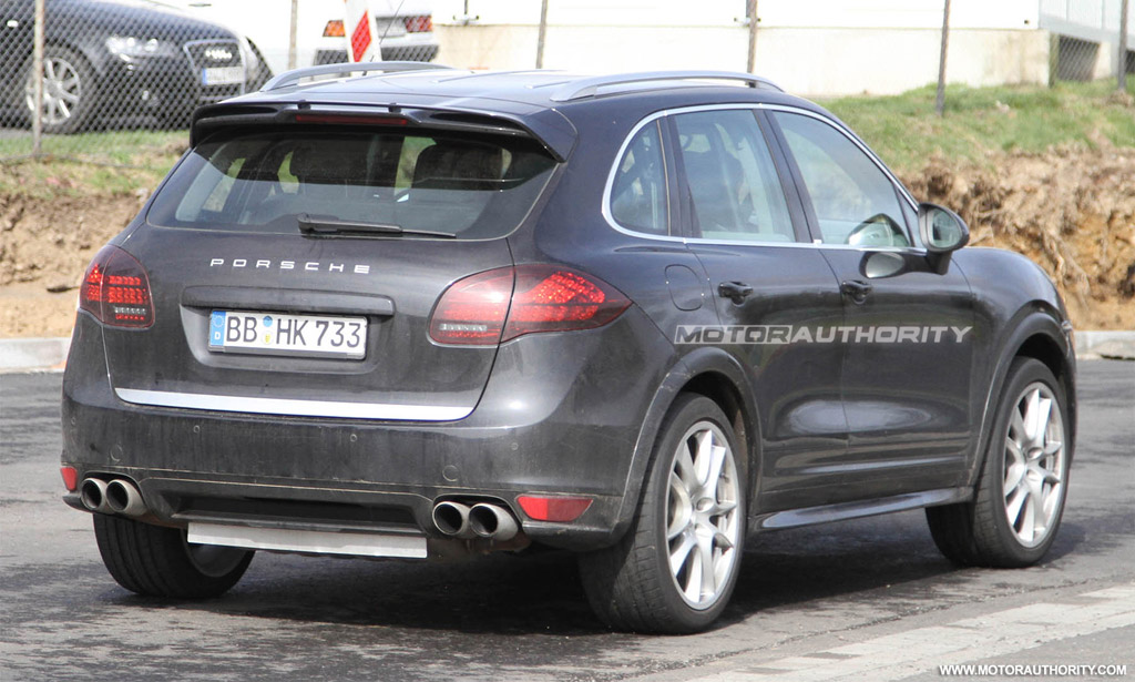 Image 2012 Porsche Cayenne Turbo S Spy Shots Size 1024 X 615 Type Gif Posted On April 20