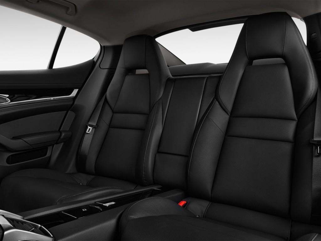 Image: 2012 Porsche Panamera 4-door HB S Rear Seats, size ...