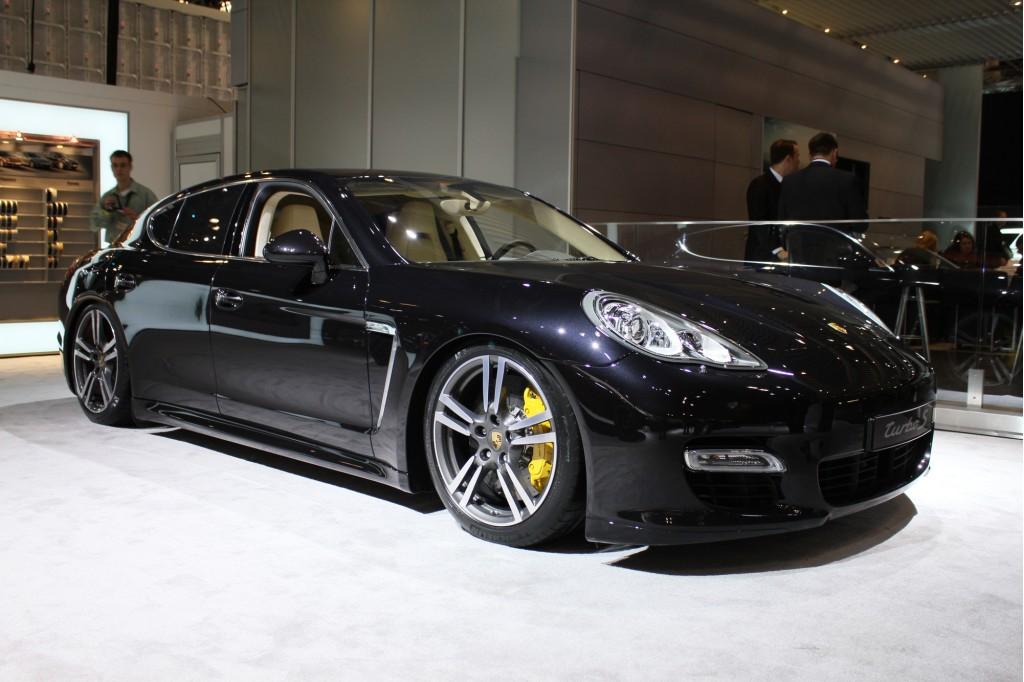 2012 Porsche Panamera Turbo S 2011 New York Auto Show Live Photos