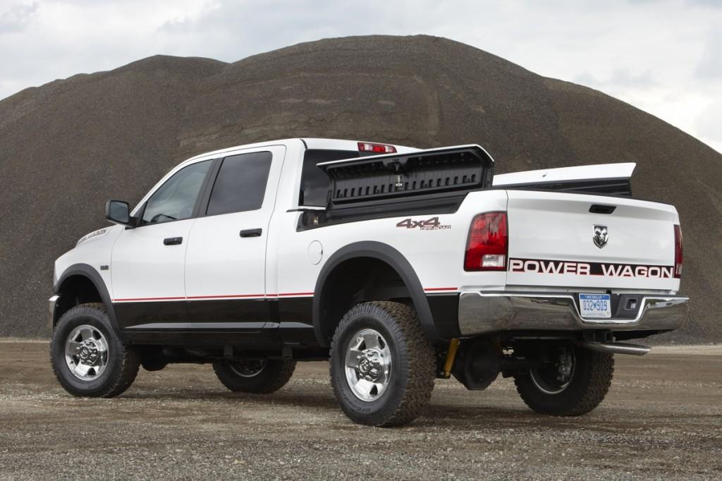 2012 Ram with RamBox option. Image: Chrysler Group LLC