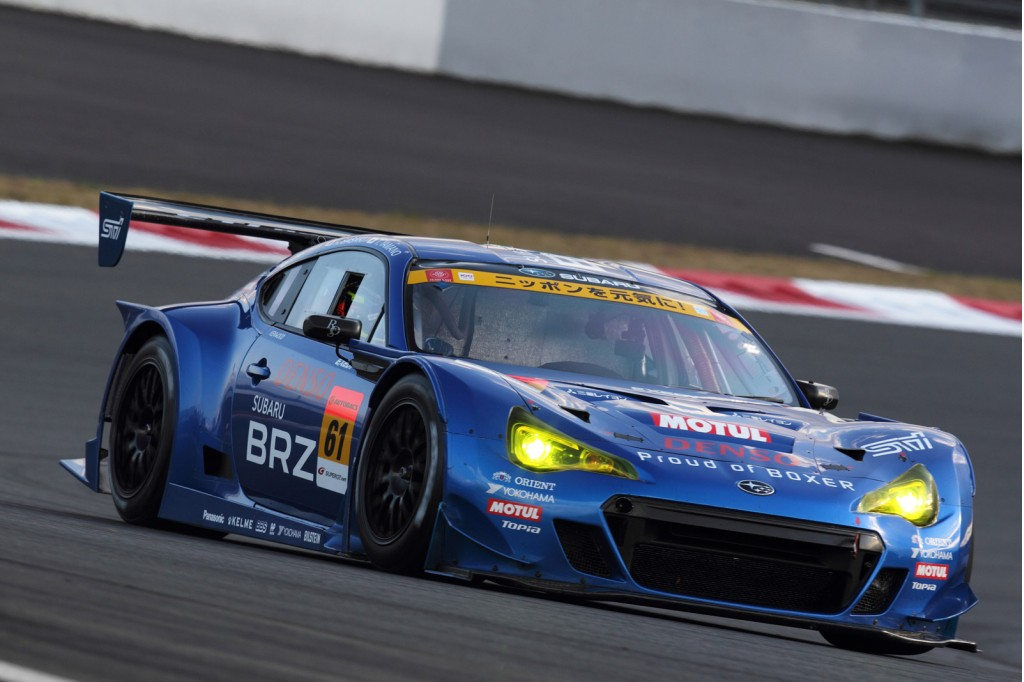2012 Subaru BRZ GT300 race car