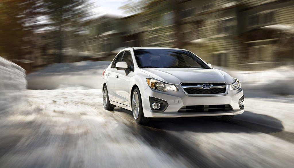 2012 Subaru Impreza Delayed Due to Earthquake