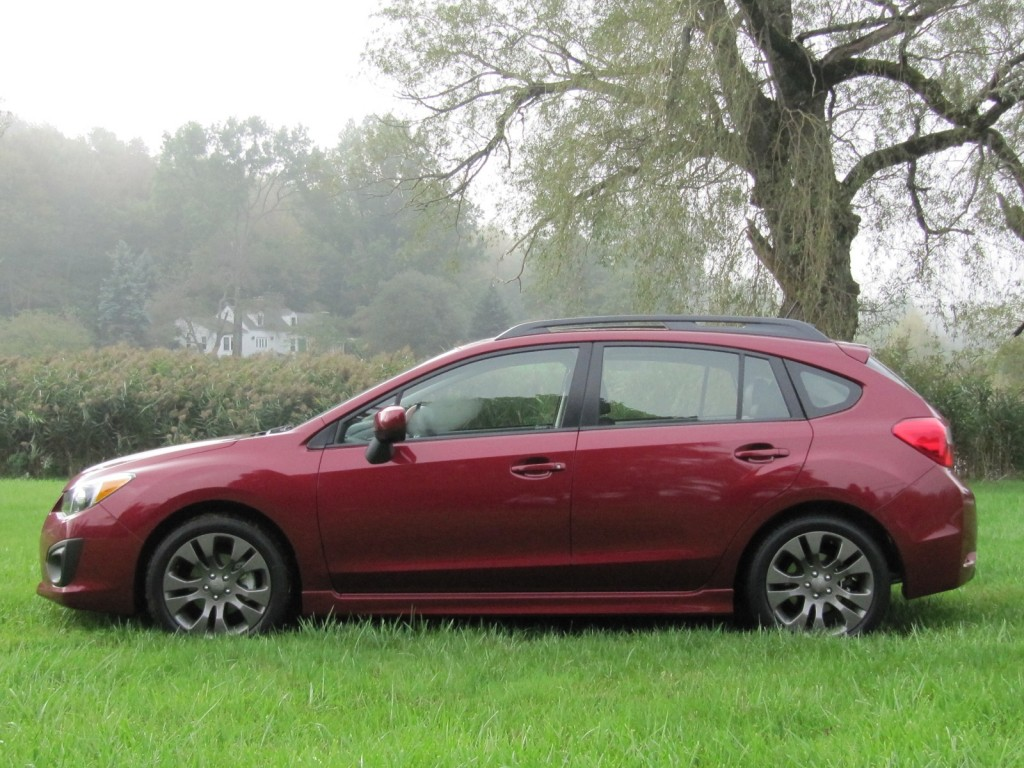 image: 2012 subaru impreza hatchback, connecticut, sept 2011, size