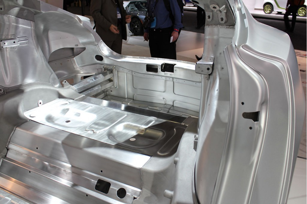 Image 2012 Tesla Model S Body In White Size 1024 X 682