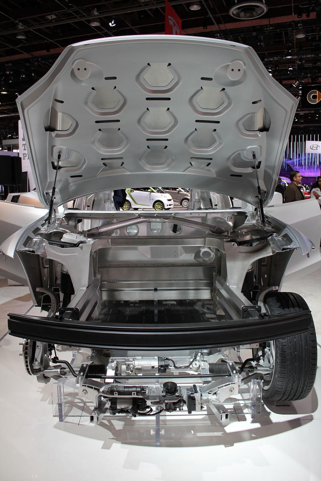2012 Tesla Model S body-in-white
