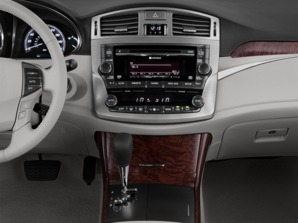 image 2012 toyota avalon 4 door sedan natl instrument. Black Bedroom Furniture Sets. Home Design Ideas