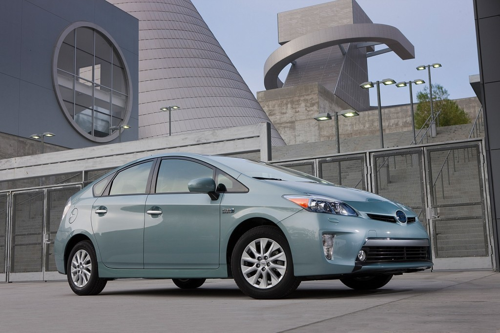 Image 2012 Toyota Prius Plug In Hybrid Production Model