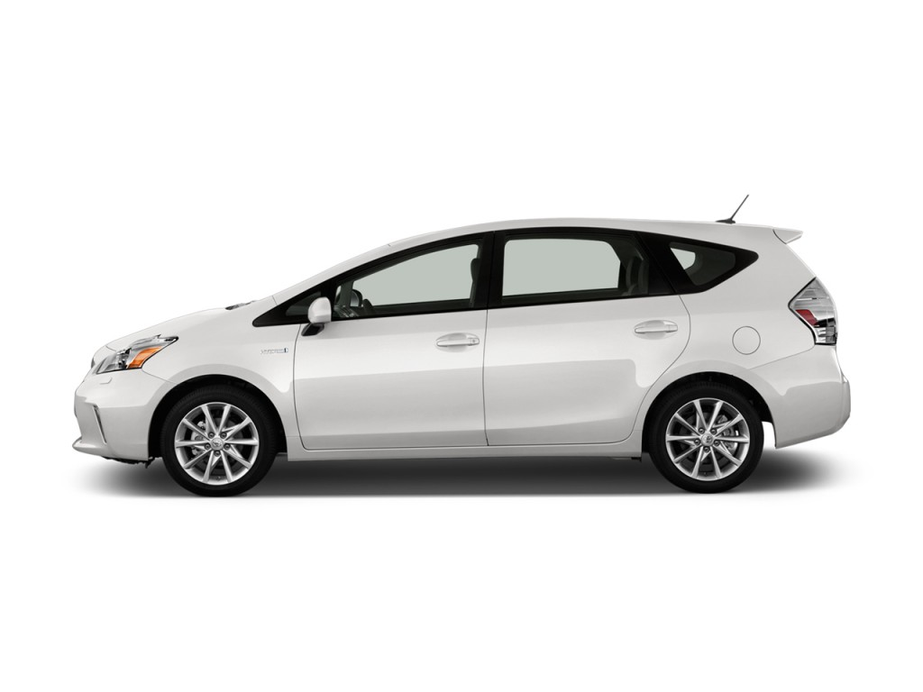 Image: 2012 Toyota Prius V 5dr Wagon Five (Natl) Side ...