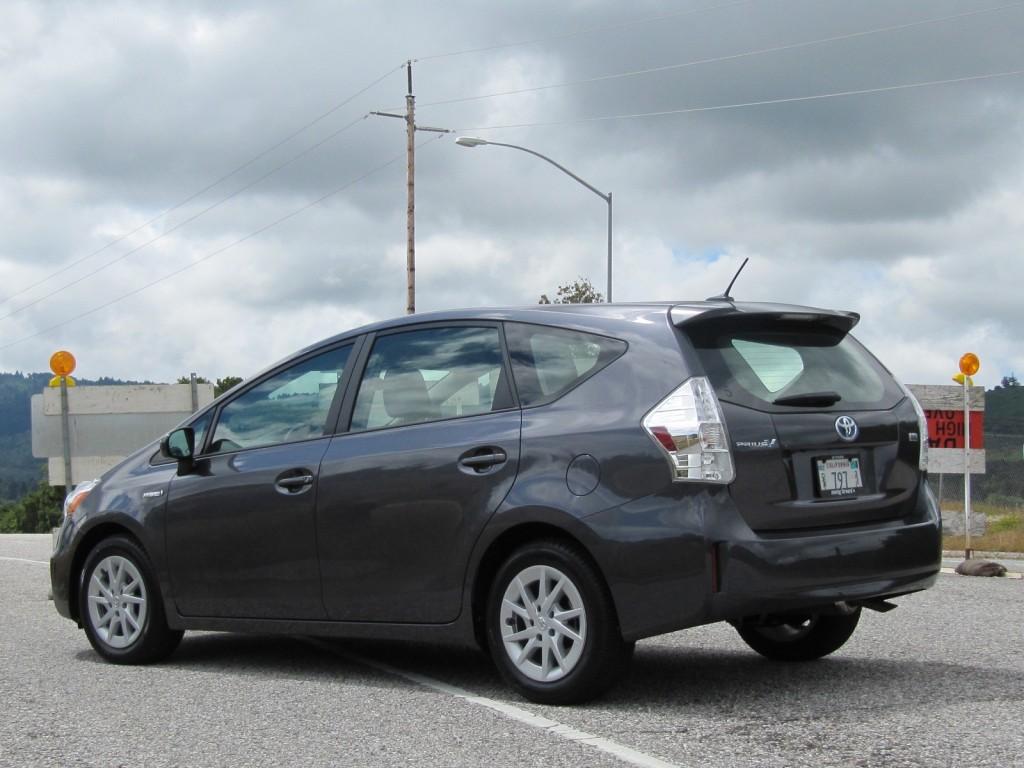 2012 Toyota Prius V station wagon, Half Moon Bay, CA, May 2011