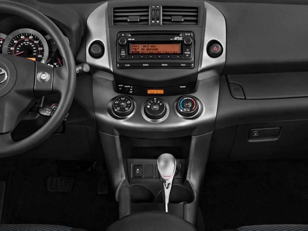 2012 Toyota RAV4 FWD 4 Door I4 Sport (GS) Instrument Panel