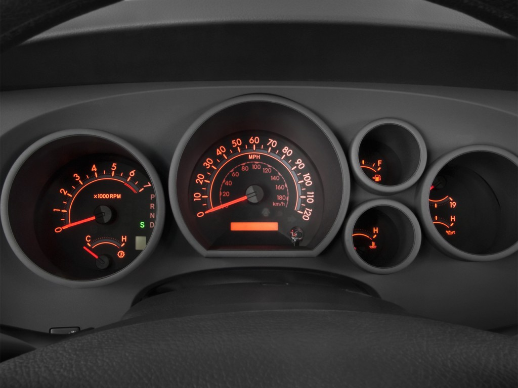 Image: 2012 Toyota Tundra Instrument Cluster, size: 1024 x ...