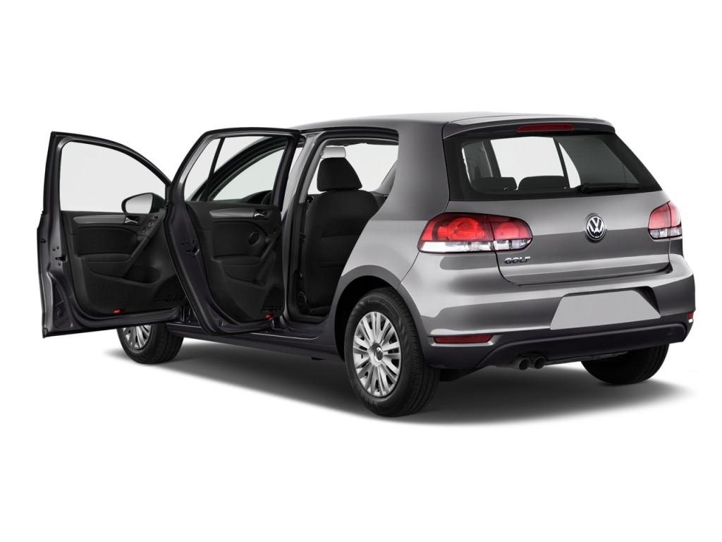 Image: 2012 Volkswagen Golf 4-door HB Auto Open Doors ...