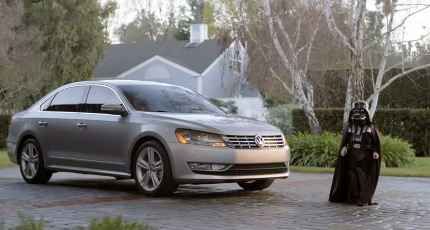 Volkswagen's 'The Force' ad for the 2012 Passat