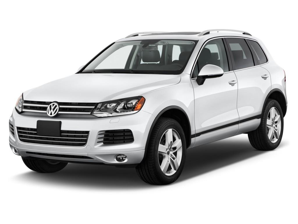 2012 Volkswagen Touareg 4-door TDI Lux *Ltd Avail* Angular Front Exterior View