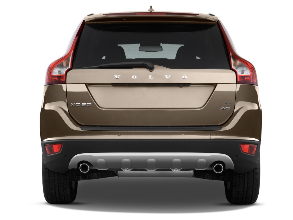 Image: 2012 Volvo XC60 AWD 4-door 3.2L Rear Exterior View ...