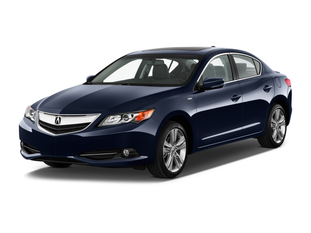 Image: 2013 Acura ILX 4-door Sedan 1.5L Hybrid Angular ...