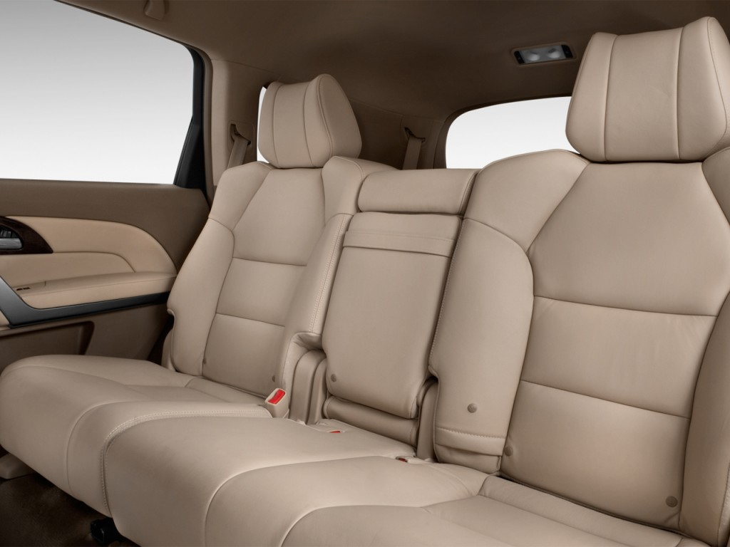 Image: 2013 Acura MDX AWD 4-door Tech Pkg Rear Seats, size ...