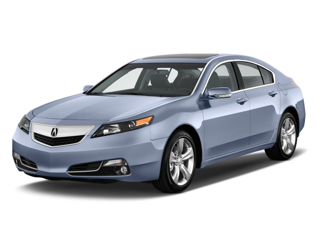 2013 Acura TL 4-door Sedan Auto 2WD Advance Angular Front Exterior View