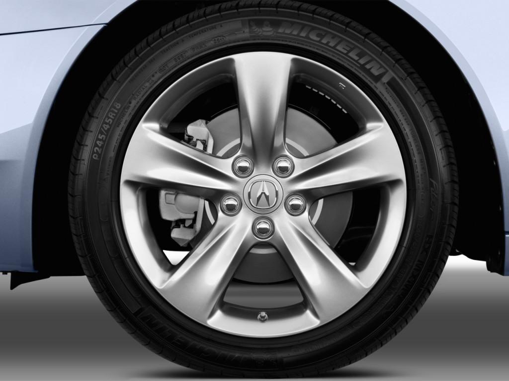 Image: 2013 Acura TL 4-door Sedan Auto 2WD Advance Wheel Cap, size ...