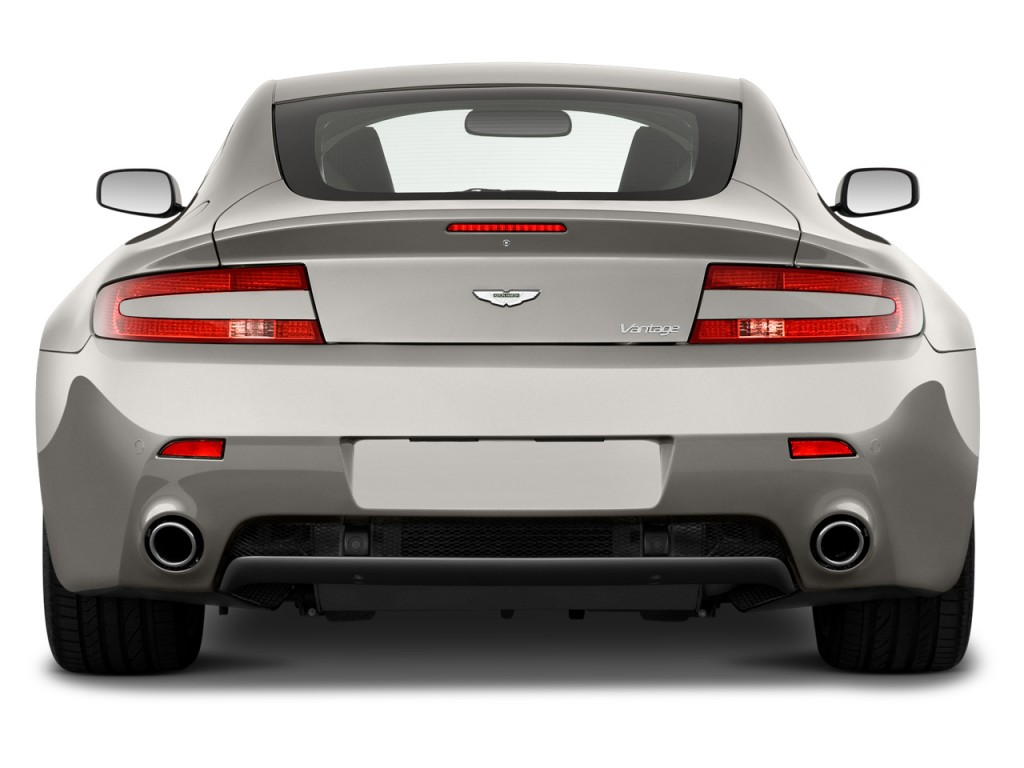 Image 2013 Aston Martin V8 Vantage 2 Door Coupe Rear