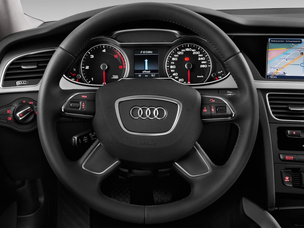 image 2013 audi a4 4 door sedan man quattro 2 0t premium steering wheel size 1024 x 768 type. Black Bedroom Furniture Sets. Home Design Ideas