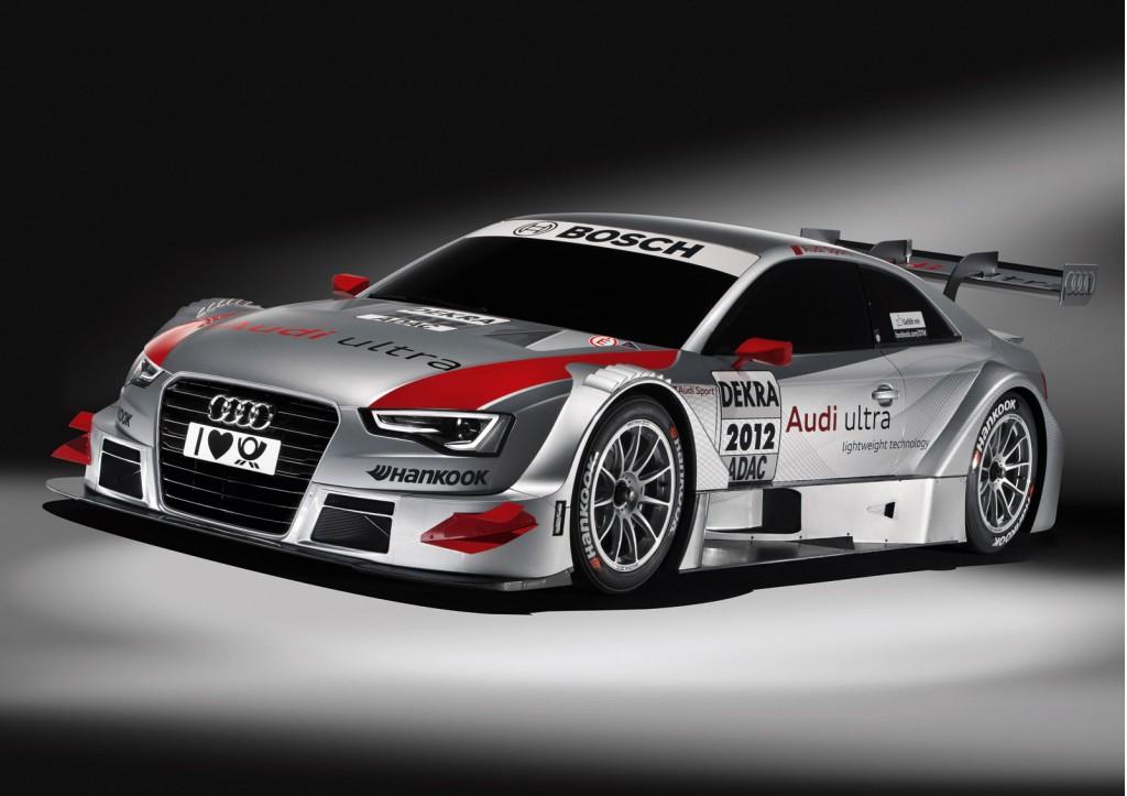2013 Audi A5 DTM race car
