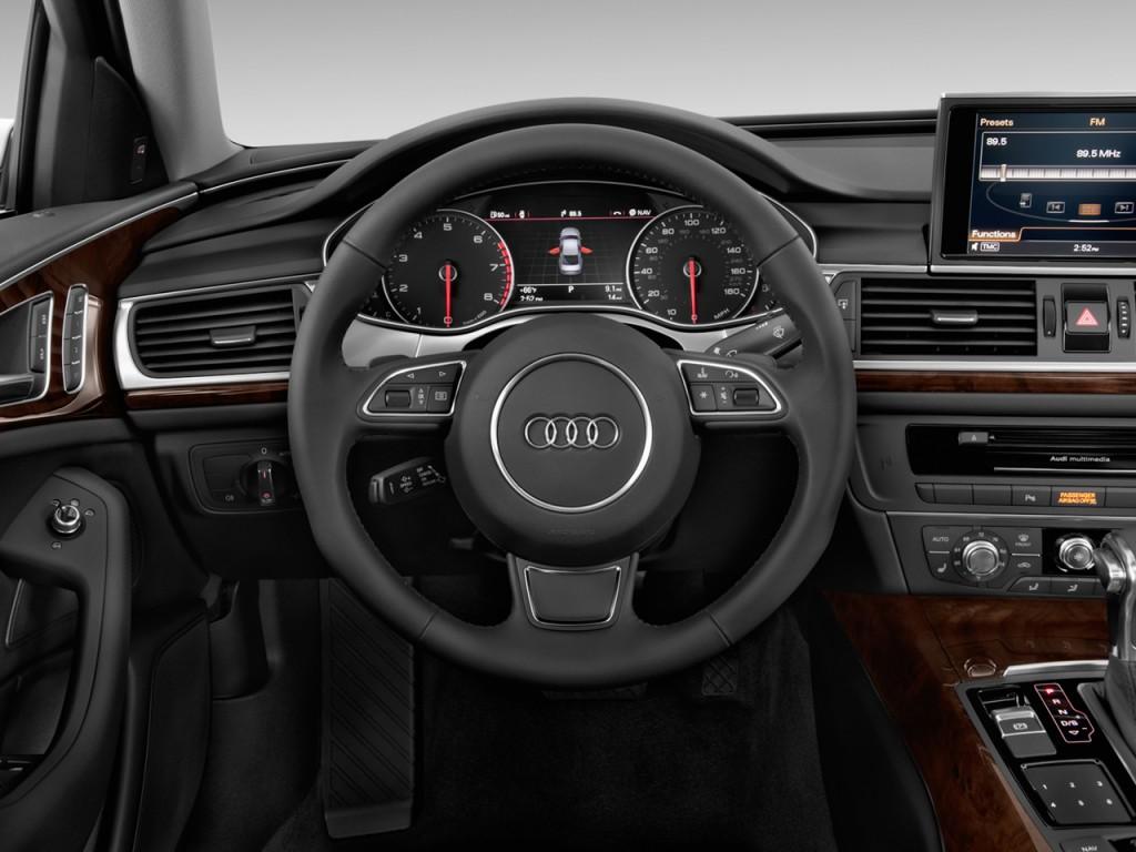 2013 Audi A6 4-door Sedan FrontTrak 2.0T Premium Plus Steering Wheel