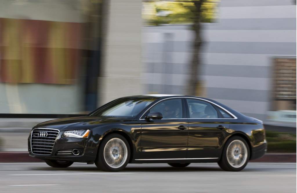 2013 audi a8 review ratings specs prices and photos the car rh thecarconnection com 2013 audi a8l specs 2013 audi a8 engine specs