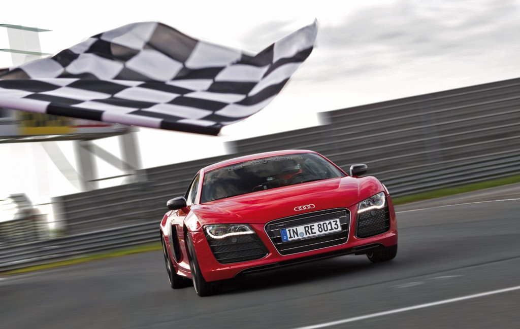 Audi R8 e-tron Sets New Production Electric Car Record At