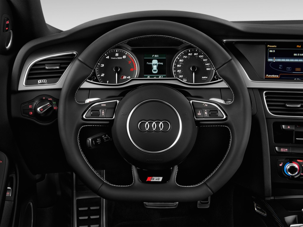 2013 audi s4 4 door sedan s tronic prestige steering wheel
