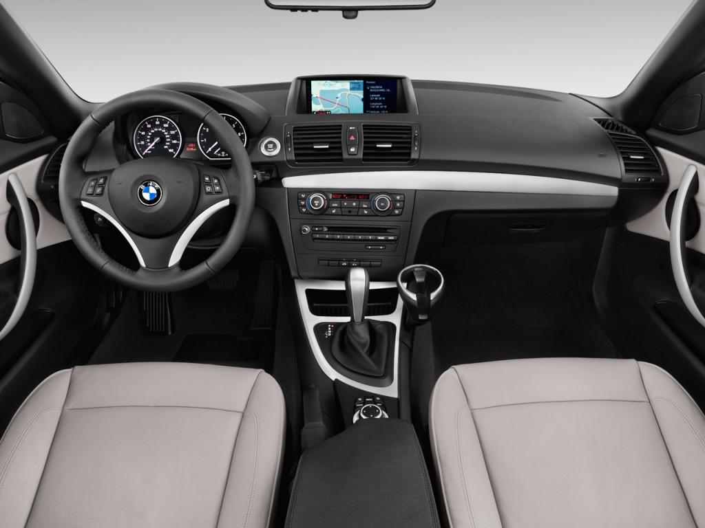 Image: 2013 BMW 1-Series 2-door Convertible 128i Dashboard ...