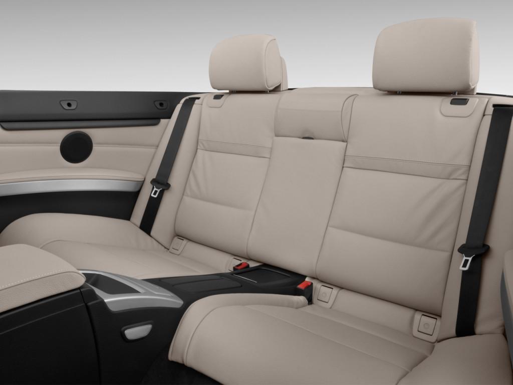 Image: 2013 BMW 3-Series 2-door Convertible 335i Rear ...